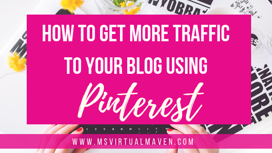 Build it and they will come simply does not work in the blogging world, especially when it comes to getting more traffic to your blog using Pinterest.