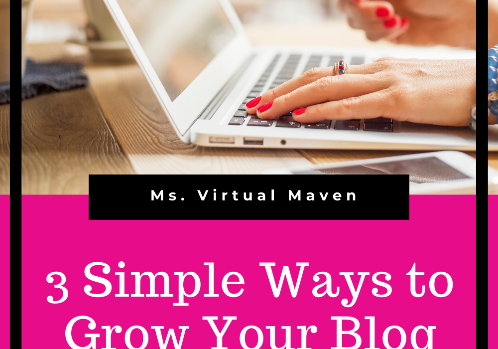 Grow Your Blog With Pinterest | Ms. Virtual Maven